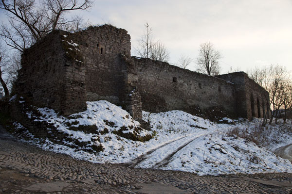 The Turkish walls in the north of the old town | Kamyanets-Podilsky old town | Ukraine