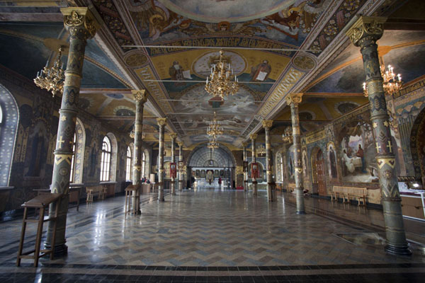 The interior of the Refectory Church | Kyiv Pechersk Lavra | Ukraine