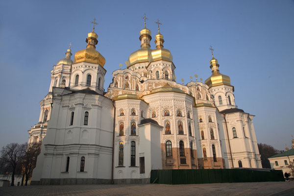 Picture of The glistening golden domes of the Dormition Cathedral are back again, after being destroyed in World War II