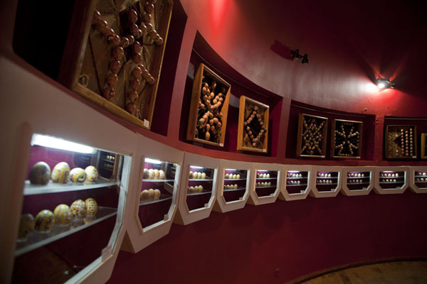 Picture of The interior of Pysanka Museum