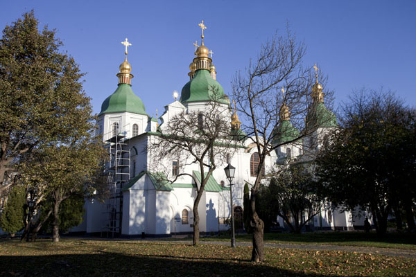 Picture of Saint Sophia Cathedral (Ukraine): Saint Sophia cathedral in the afternoon sun