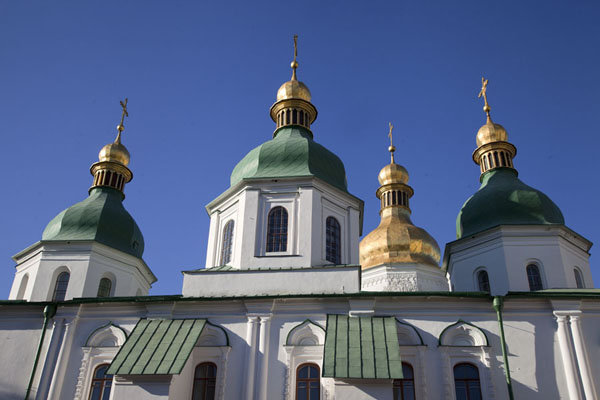 Foto di Side view of Saint Sophia cathedralKiev - Ucraina