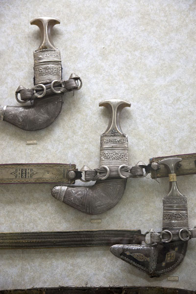 Photo de Traditional daggers in the museumAl Ain - Emirats Arabes Unis