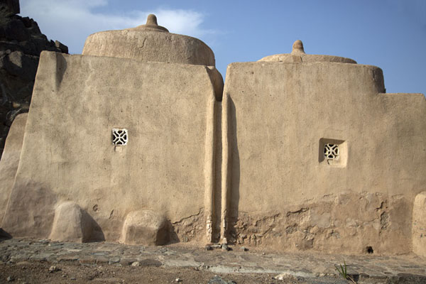 Foto de South side of the mosque of Al-Bidya - Emiratos Arabes Unidos - Asia