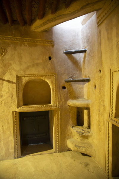 Picture of Al-Hayl Fort (United Arab Emirates): Inside view of the residential tower of Al-Hayl Fort