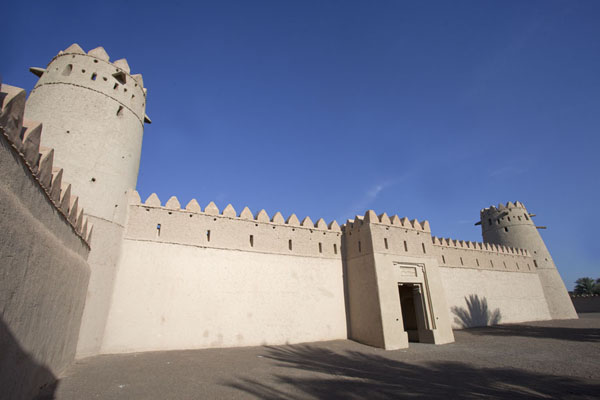 Photo de The inner building of Al Jahili fortAl Ain - Emirats Arabes Unis