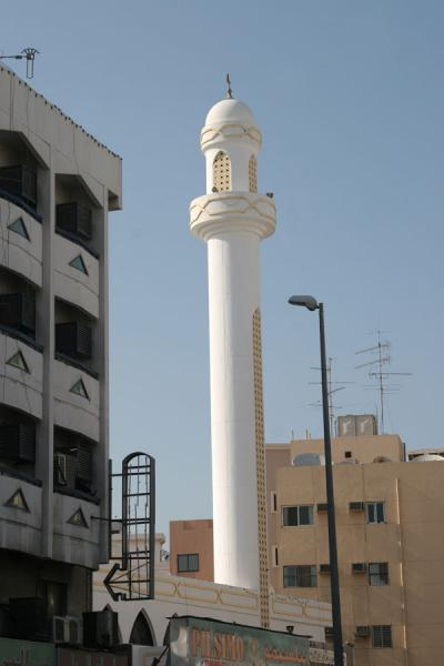 Picture of Dubai mosques (United Arab Emirates): Deira: minaret in Dubai
