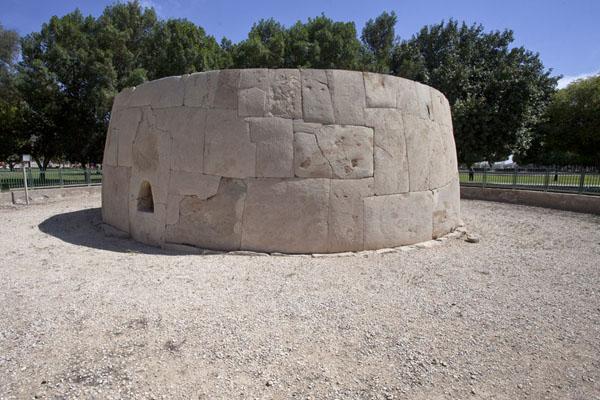 Circular Hili Grand Tomb measures 12 metres diameter | Hili Archaeological Park | United Arab Emirates
