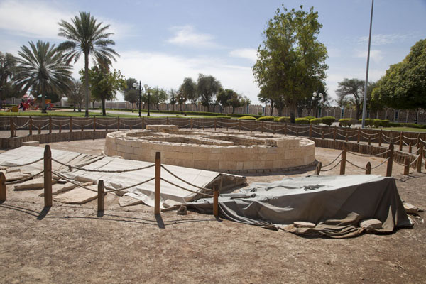 Picture of Tombs E and N, partly reconstructed, in the parkAl Ain - United Arab Emirates