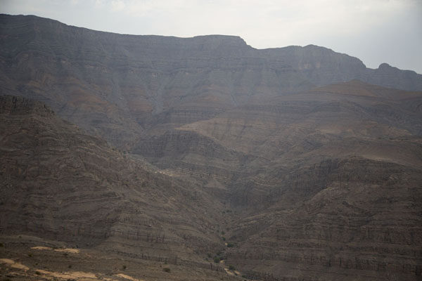 View of the Jebel Jais range - 阿拉伯联合大公国