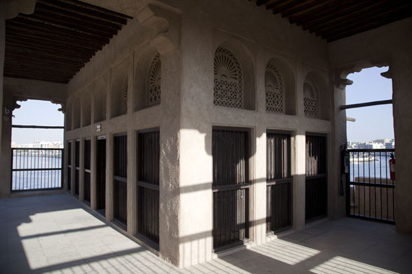 Foto di Emirati Arabi Uniti (The majlis seen from the outside)