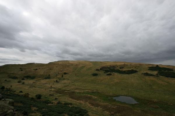 Picture of Grey clouds gathering over Arthur's SeatEdinburgh - United Kingdom