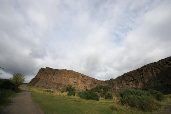View of Salisbury Crags | Arthur's Seat | United Kingdom