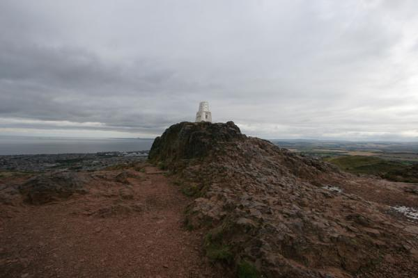 Photo de Summit of Arthur's Seat, looking eastEdimbourg - le Royaume-Uni