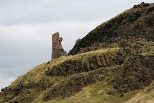 Picture of Ruins of St. Anthony's Chapel at the foot of Arthur's SeatEdinburgh - United Kingdom