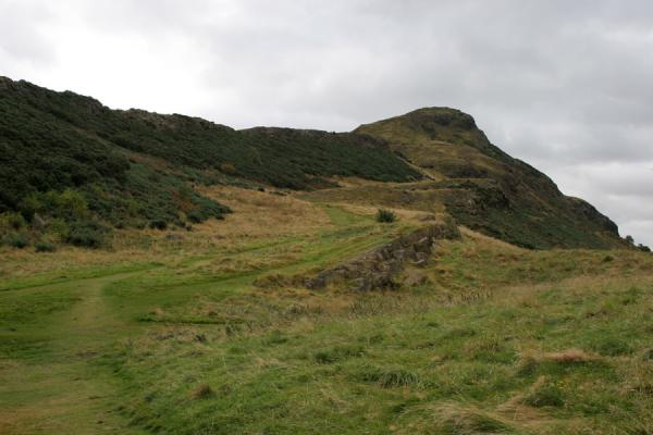 Picture of Looking towards the summit of Arthur's SeatEdinburgh - United Kingdom