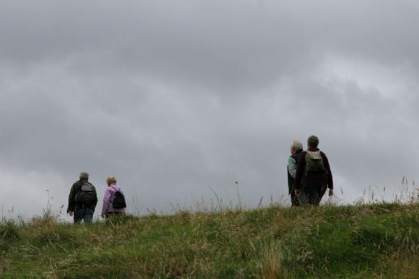 Picture of People going for a stroll on Arthur's SeatEdinburgh - United Kingdom
