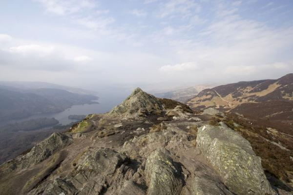 Landscape of Ben A'an and Loch Katrine | Ben A'an | United Kingdom