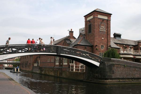 At the crosscanals between Birmingham & Fazeley and Worcester & Birmingham canals | Birmingham Canals | United Kingdom