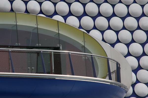 Detail of one of the daring buildings on the Bullring, Birmingham | Birmingham | United Kingdom