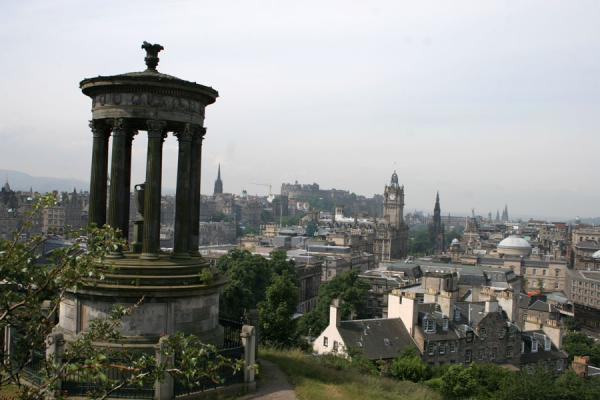 Looking towards the Old Town from Calton Hill, Edinburgh | Calton Hill | United Kingdom