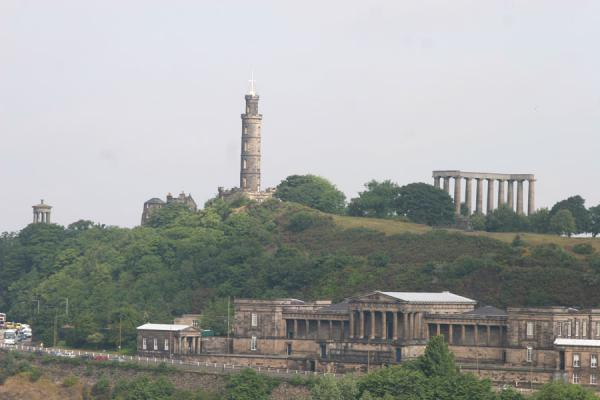 Picture of Edinburgh: Calton Hill seen from the Old Town
