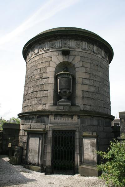 Picture of Edinburgh: mausoleum of David Hume on Calton Hill