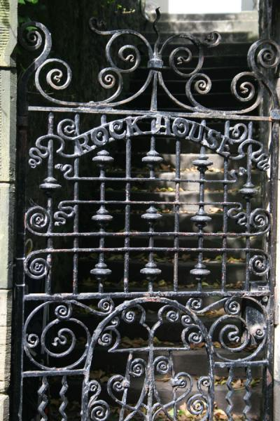 Iron gate in cemetery on Calton Hill, Edinburgh | Calton Hill | United Kingdom