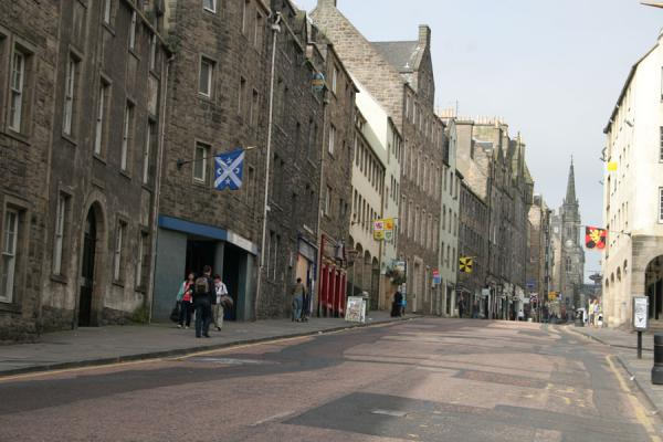 Picture of Edinburgh Old Town (United Kingdom): Edinburgh: lower part of the Royal Mile