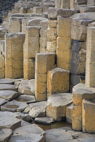 Picture of Giant's Causeway (United Kingdom): Basalt rocks forming the Giant's Causeway