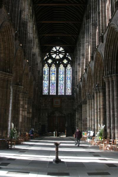 Foto di Main nave of Glasgow CathedralGlasgow - Regno Unito