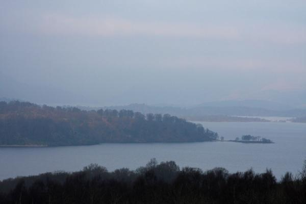 Foto van Archipelago of Loch Lomond seen from the southern shoreBalloch - Verenigd Koninkrijk