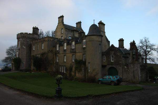 Foto van Boturich Castle on the shore of Loch LomondBalloch - Verenigd Koninkrijk