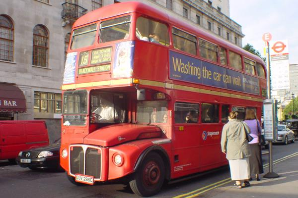 Picture of London Double deckers