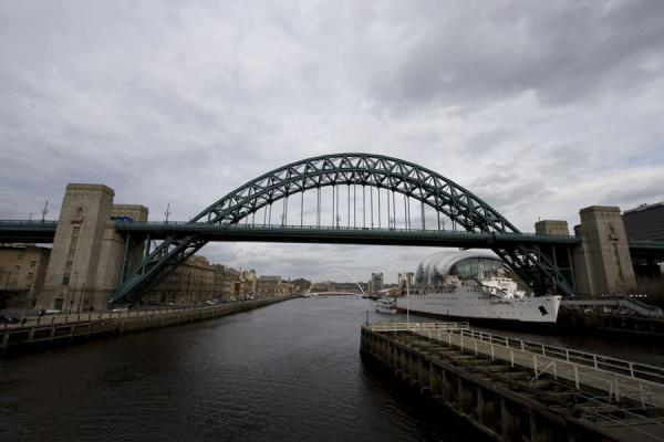 Tyne Bridge seen from the west | Newcastle Bridges | United Kingdom