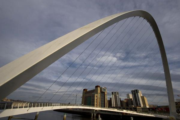 Gateshead Millennium Bridge and BALTIC Centre for Contemporary Art | Newcastle Bridges | United Kingdom
