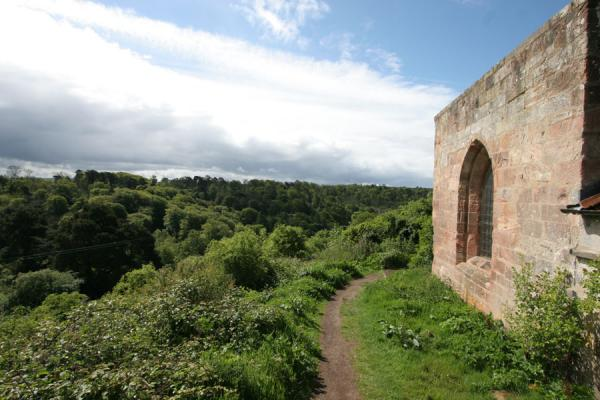 Picture of Countryside south of Rosslyn Chapel