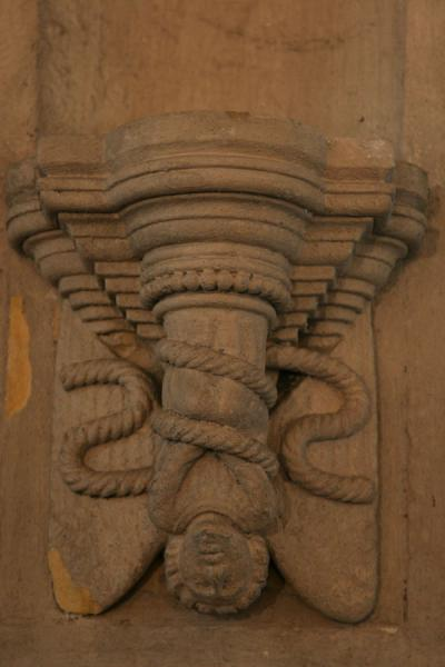 Picture of Lucifer in Rosslyn Chapel