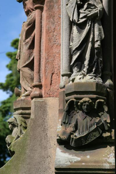 Detail of tomb outside Rosslyn Chapel | Rosslyn Chapel | United Kingdom