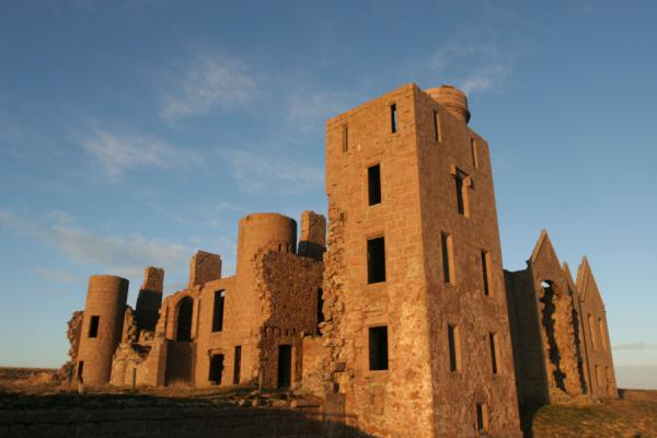 Slains Castle and the principal tower | Castello di Slains | Regno Unito