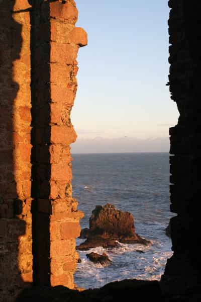 Picture of Overlooking the sea from Slains Castle
