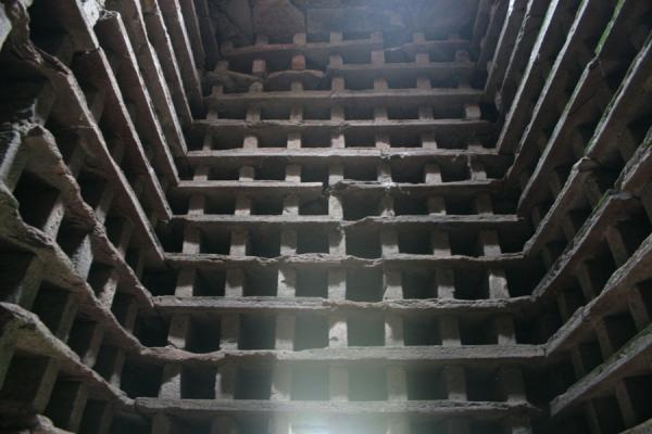 Picture of Tantallon Castle (United Kingdom): Dovecot seen from the inside at Tantallon Castle