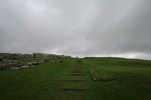Ruins of Vercovicium | Vercovicium Roman Fort | United Kingdom