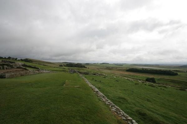 Part of the ruins of Vercovicium or Housesteads | Vercovicium Roman Fort | United Kingdom