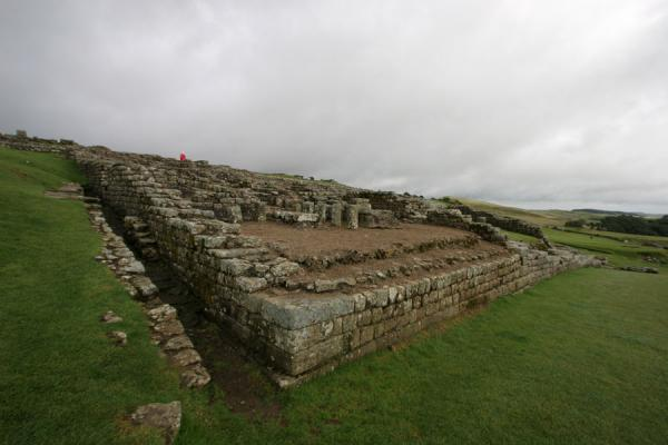 Picture of Vercovicium: ruins of the Roman fort