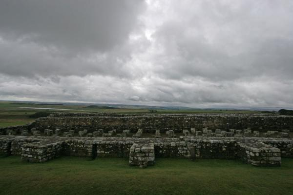 Picture of Remains of the granary of VercoviciumHousesteads - United Kingdom