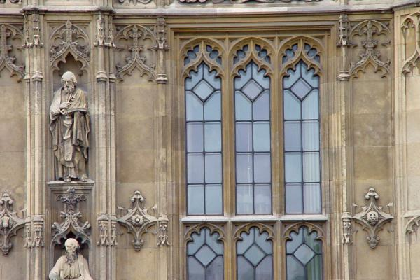 Close-up of the Westminster Hall | Westminster | United Kingdom