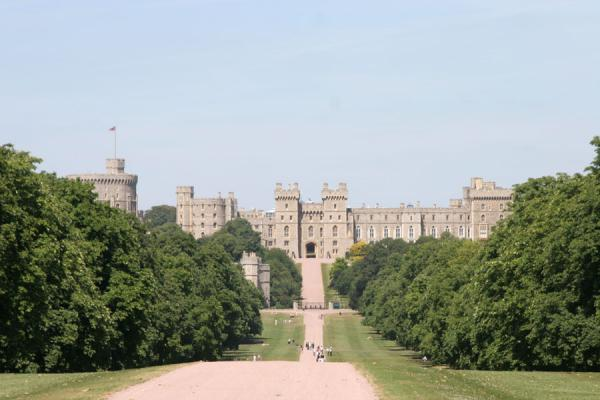 Picture of Windsor Castle (United Kingdom): Windsor Castle seen from the Long Mile