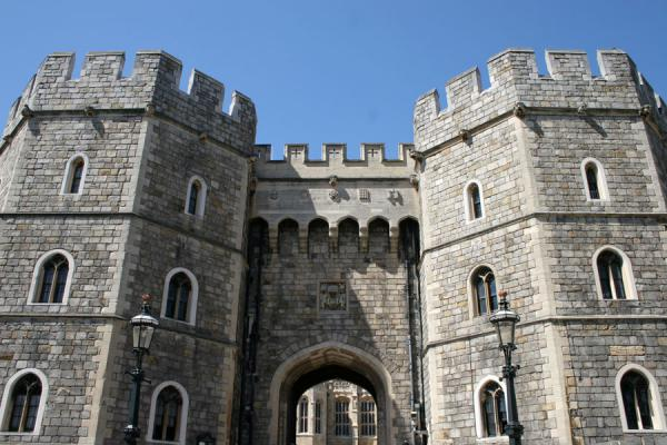 Picture of Defensive towers typical for Windsor Castle