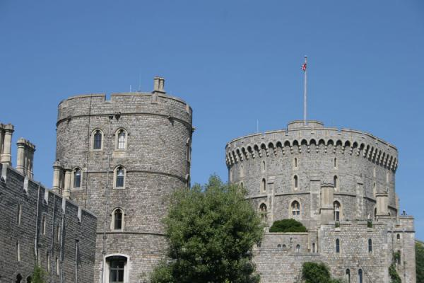 Picture of Windsor Castle: defensive towers